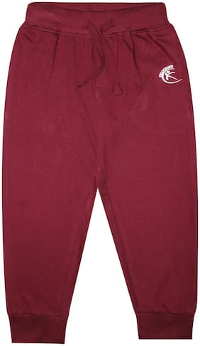 Sporty Solid Track Pant