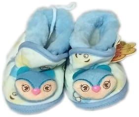 SQUNIBEE Blue Booties For Infants