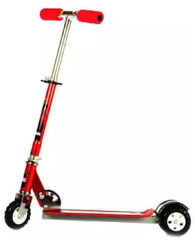Sreshta Kids 3 Wheel Scooter With Bell Red Ss01
