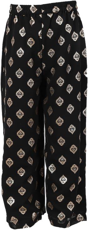 Srishti Girl Viscose Trousers - Black