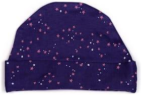Starry print baby cap