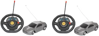 Steering Car Remote For Kids Pack of 2