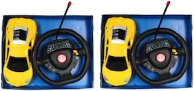 Steering Remote Control Car For Kids Pack of 2