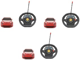 Steering Superb Looks Remote Control Car For Kids Pack Of 3