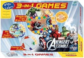 Sterling Avengers 3 in 1 Game Battle Box
