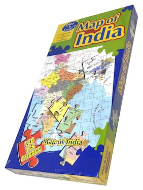 Sterling Map of India