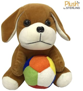 Sterling Plush By Sterling Soft Toys- Puppy with Ball 30 CM