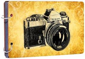 Studio Shubham wooden photo album(26cmx16cmx4cm)
