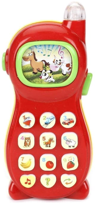 Study Learner System Mobile Phone 8 Projection Picture More Intersting Function for Kid (1Pc) Assorted Color