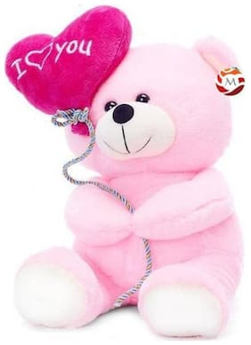G-King Pink Teddy Bear - 18 cm