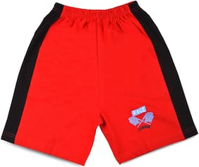 MABYN Boy Cotton Track pants - Red