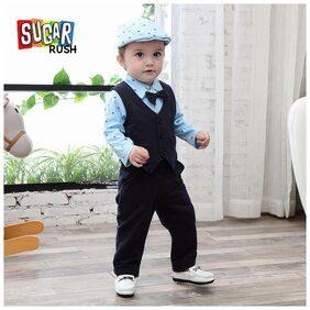 Sugar Rush Baby Boy Combo Set - Blue