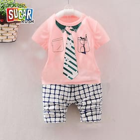 b6b16908 Boys Clothing Sets – Buy Top & Bottom Sets for Boys Online at Best ...