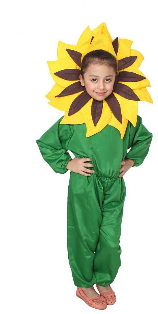31244bcb036b4 Buy Sun Flower Rangoli 3 - 4 Year Kids Fancy Costume Dress Online at Low Prices  in India - Paytmmall.com