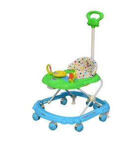 SUNBABY HOT RACER MUSICAL WALKER GREEN-BLUE