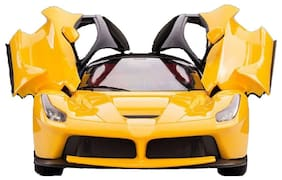 Sunflower Remote Controlled Rechargable Ferrari Car With Opening Doors