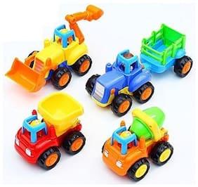 Sunshine Unbreakable Automobile Car Toy Set, Set Of 4
