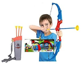 Super Toy Archery Bow and Arrow Toy Set with Target Fun Game for Kids