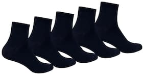 Supersox Blue Cotton Socks (Pack of 5)