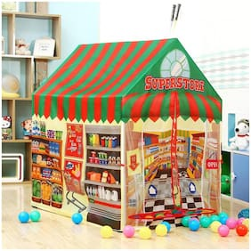 Superstore Theme Foldable Kids Playing Tent House