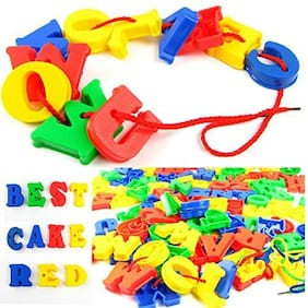 SUPERTOY ABCD Alphabet Letters Education Beads