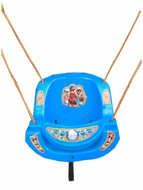 Oh Baby Baby Blue Plastic Swing