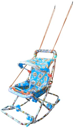Oh Baby Baby Blue 6 In 1 Swing