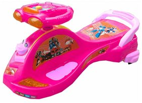 Oh Baby Baby Frog Shape With Back Support Musical Light Magic Car For Your Kids se-mc-12