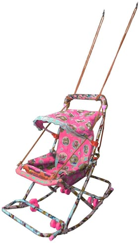 Oh Baby Baby Pink 6 In 1 Swing