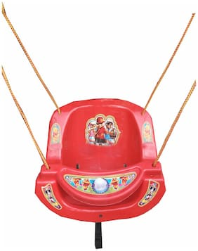 Oh Baby Baby Red Plastic Swing