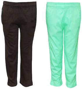 POP SHOP Boy Cotton Track pants - Green