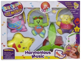 Sweet Cuddle Musical Mobile Cot