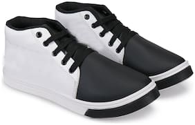 Swiggy White Canvas shoes for boys