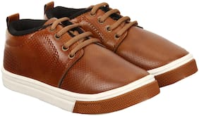 Swiggy Brown Boys Sport shoes