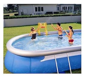 Swimming Pool Basket Ball Game Set for Inflatable Pools - Pool Sold Separately