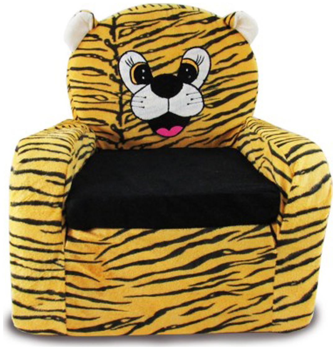 Tabby Toys Animal Theme Tiger Kids Sofa Foam Sofa