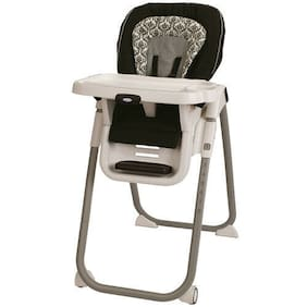 TableFit High Chair Rittenhouse Dishwasher Safe Tray BPA Free Black White