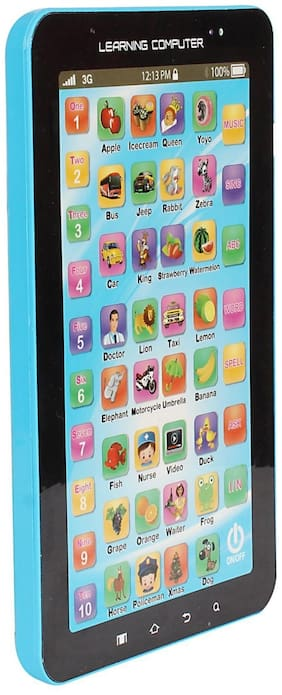 DealBindaas Tablet P1000 Kids Educational Learning Tablet Computer ( Pack on 1 ) Color May Vary