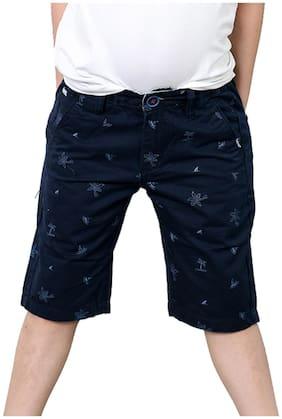 TADPOLE Boy Solid Shorts & 3/4ths - Blue