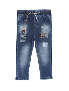 TADPOLE Boy's Regular fit Jeans - Blue