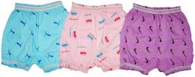 Tahiro Panty & bloomer for Girls - Multi , Set of 3