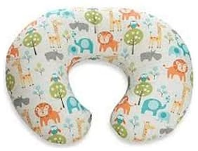 Tahiro Multicolour Printed Cotton Baby Pillow - Pack Of 1