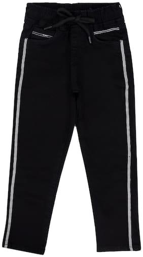 Tales & Stories Boy Solid Trousers - Black