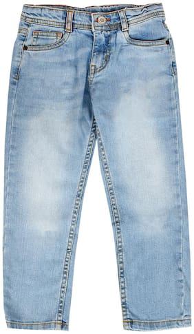 Tales & Stories Boy's Slim fit Jeans - Blue