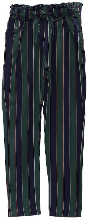 Tales & Stories Girl Cotton Trousers - Green