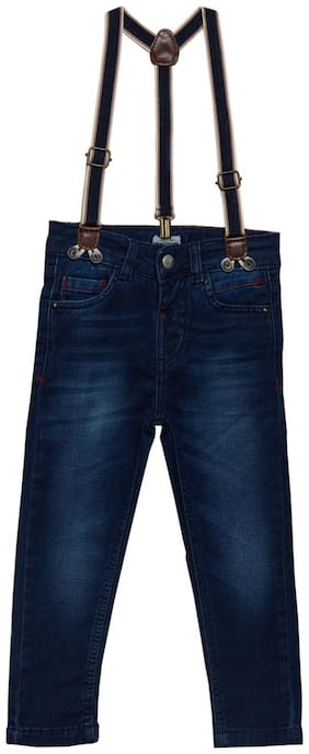 Tales & Stories Boy's Slim fit Jeans - Blue