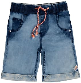 Tales & Stories Shorts & 3/4ths For Boy (Blue)