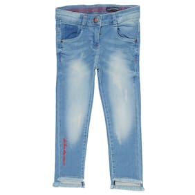 a8e6901bf7b Tales   Stories Girl Solid Jeans - Blue