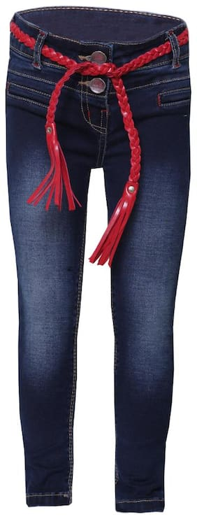 Tales & Stories Girls Dark Blue Jeans