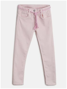 Tales & Stories Girl Cotton blend Trousers - Pink